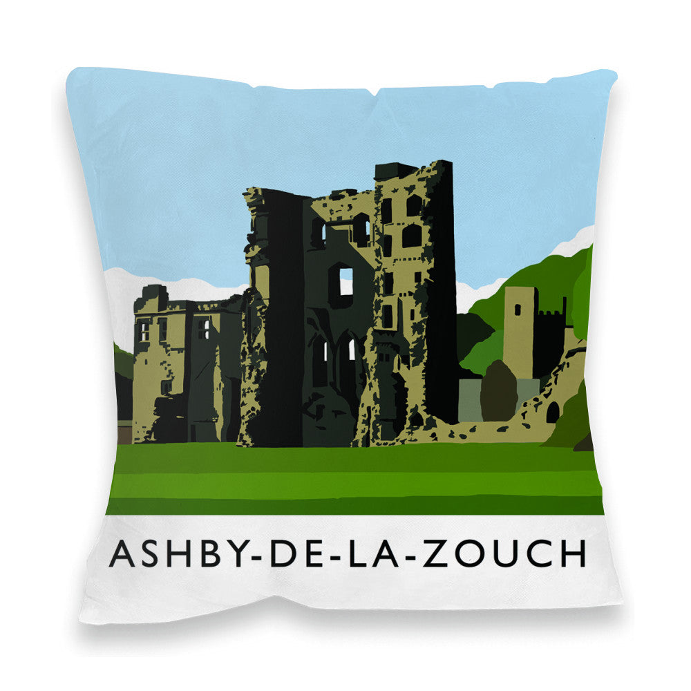 Ashby-De-La-Zouch, Leicestershire Fibre Filled Cushion