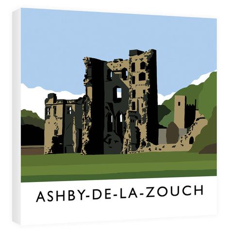 Ashby-De-La-Zouch, Leicestershire Canvas