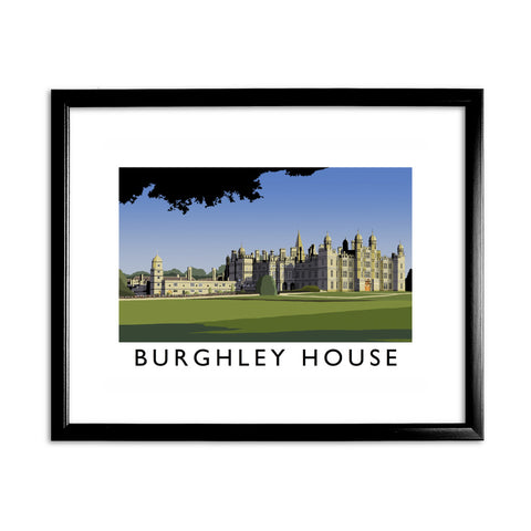 Burghley House, Ireland 11x14 Framed Print (Black)