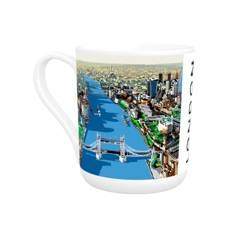 The River Thames, London Bone China Mug