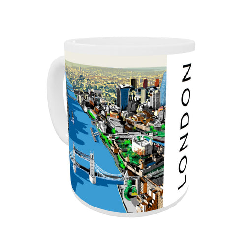 The River Thames, London Coloured Insert Mug