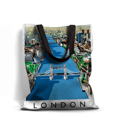 The River Thames, London - Premium Tote Bag