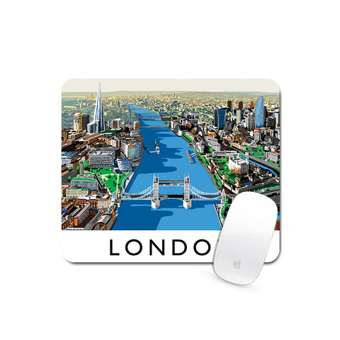 The River Thames, London - Mouse Mat