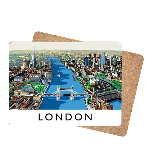 The River Thames, London - Placemat