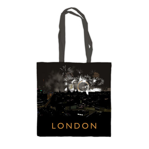 London at night Premium Tote Bag