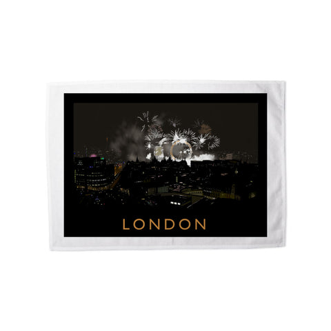 London at night Tea Towel