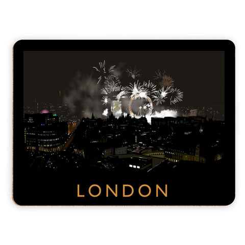 London at night Placemat