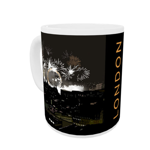 London at night Coloured Insert Mug