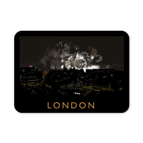 London at night Mouse Mat
