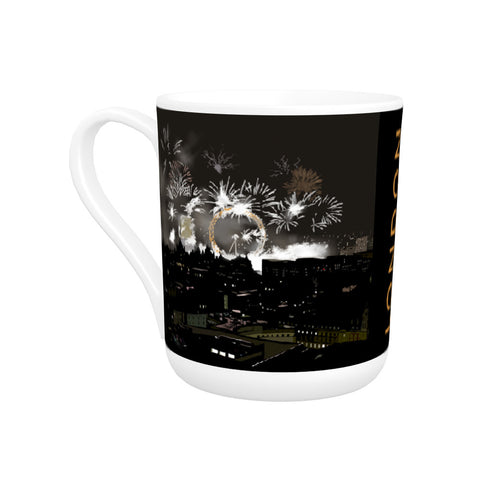 London at night Bone China Mug