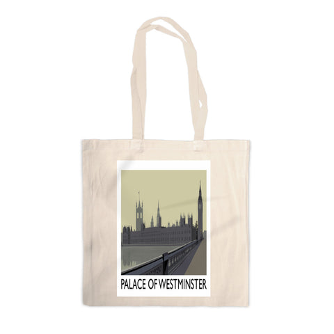 The Palace of Westminster, London Canvas Tote Bag