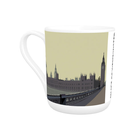 The Palace of Westminster, London Bone China Mug