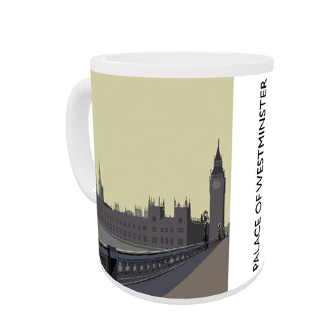 The Palace of Westminster, London Coloured Insert Mug