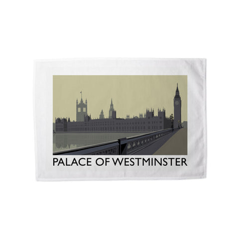 The Palace of Westminster, London Tea Towel