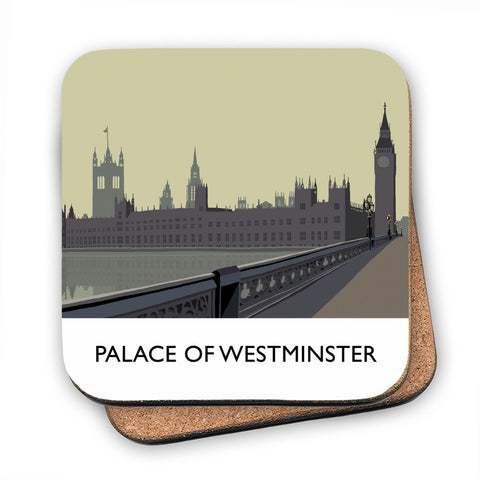 The Palace of Westminster, London MDF Coaster