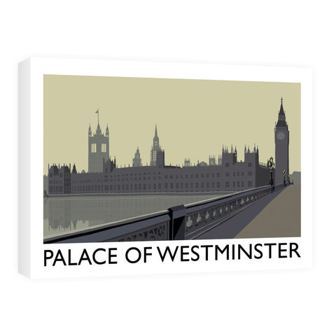 The Palace of Westminster, London Canvas
