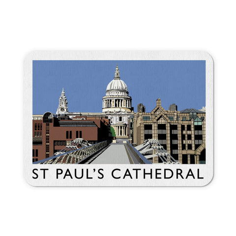 St Pauls Cathedral, London Mouse Mat