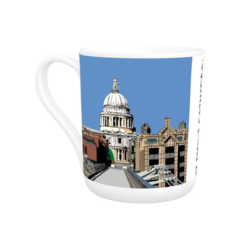 St Pauls Cathedral, London Bone China Mug