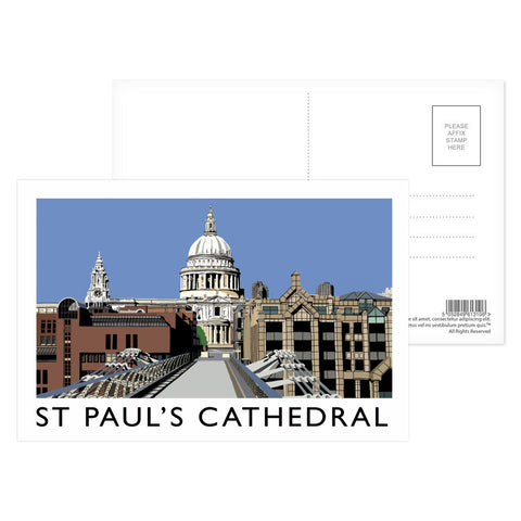 St Pauls Cathedral, London Postcard Pack