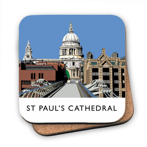 St Pauls Cathedral, London MDF Coaster