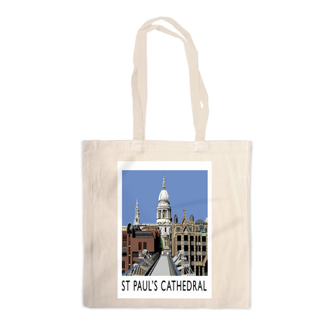 St Pauls Cathedral, London Canvas Tote Bag