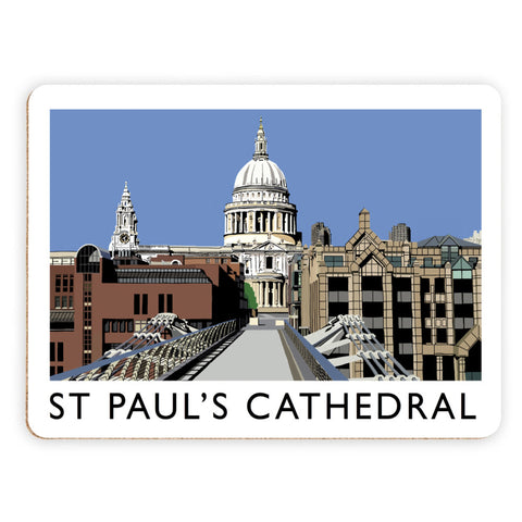 St Pauls Cathedral, London Placemat