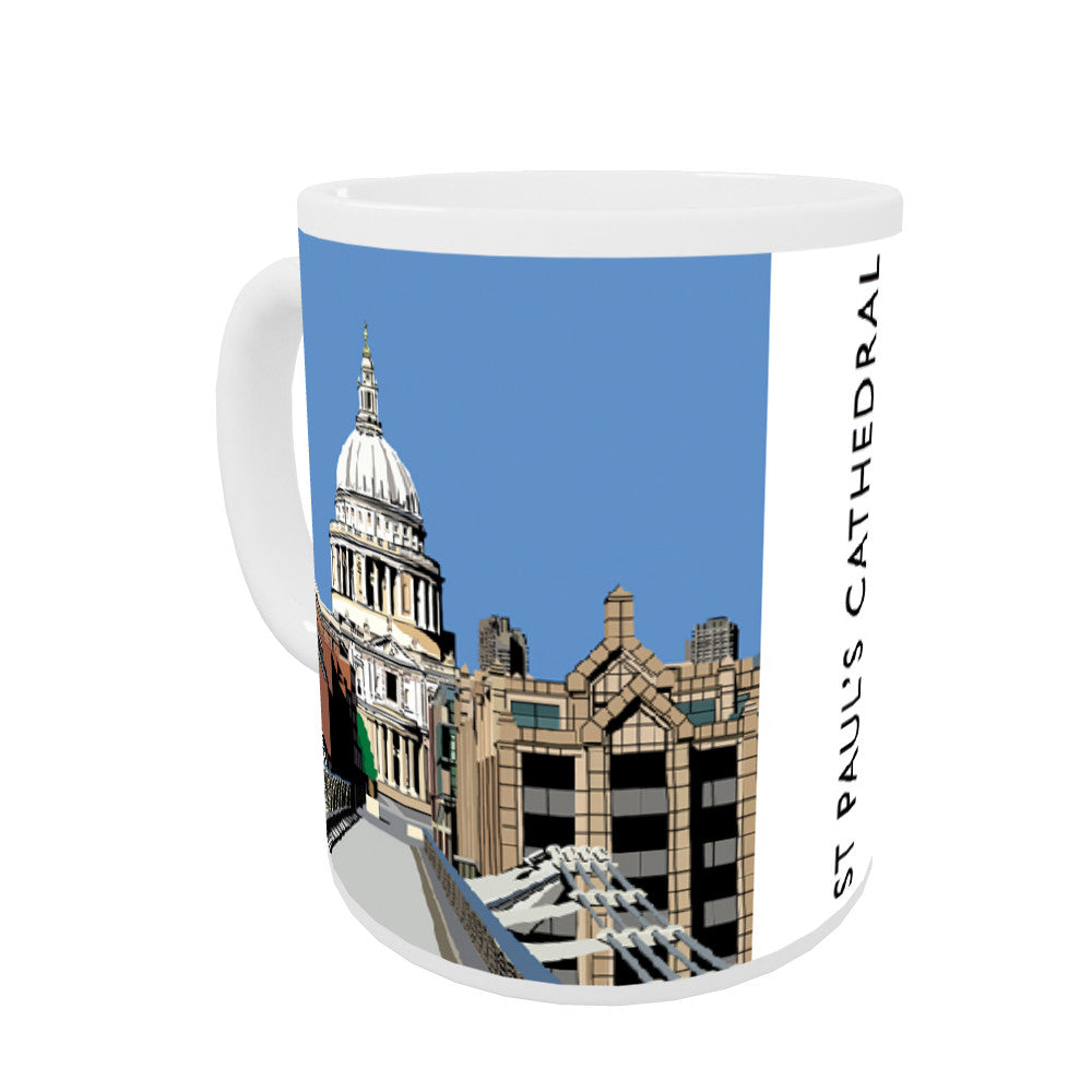 St Pauls Cathedral, London Coloured Insert Mug