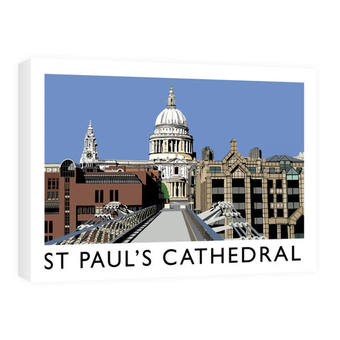 St Pauls Cathedral, London Canvas