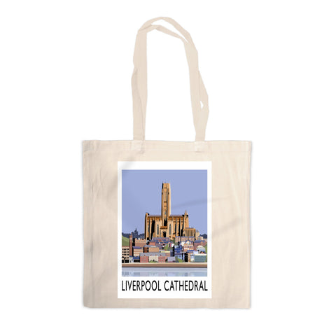 Liverpool Cathedral Canvas Tote Bag