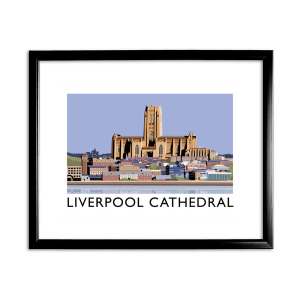 Liverpool Cathedral 11x14 Framed Print (Black)