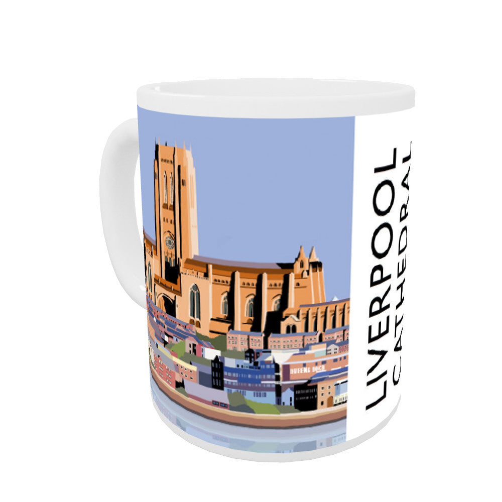 Liverpool Cathedral Coloured Insert Mug