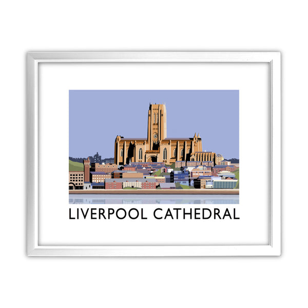 Liverpool Cathedral 11x14 Framed Print (White)
