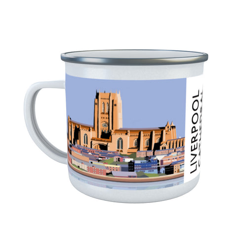 Liverpool Cathedral Enamel Mug
