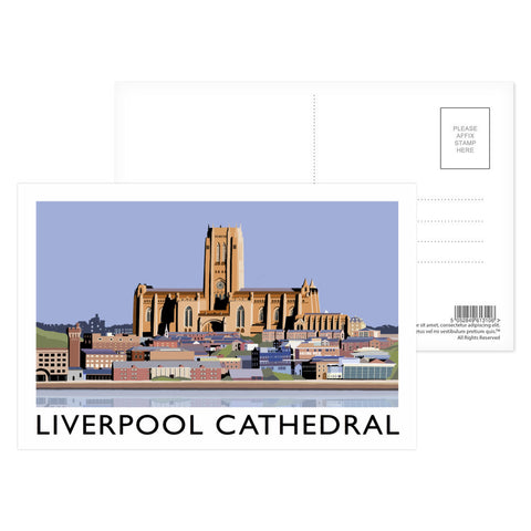 Liverpool Cathedral Postcard Pack