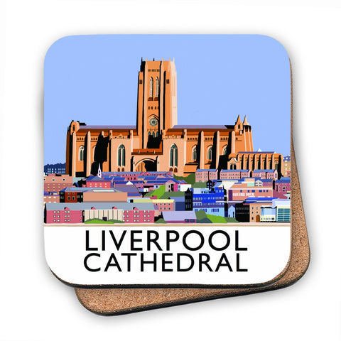 Liverpool Cathedral MDF Coaster