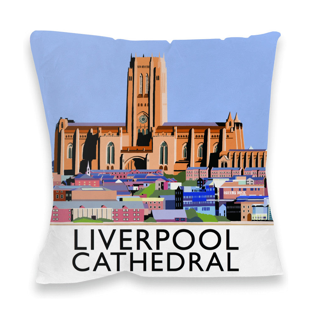Liverpool Cathedral Fibre Filled Cushion