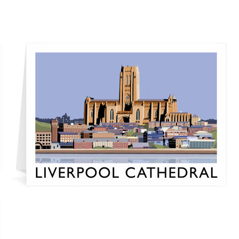 Liverpool Cathedral Greeting Card 7x5