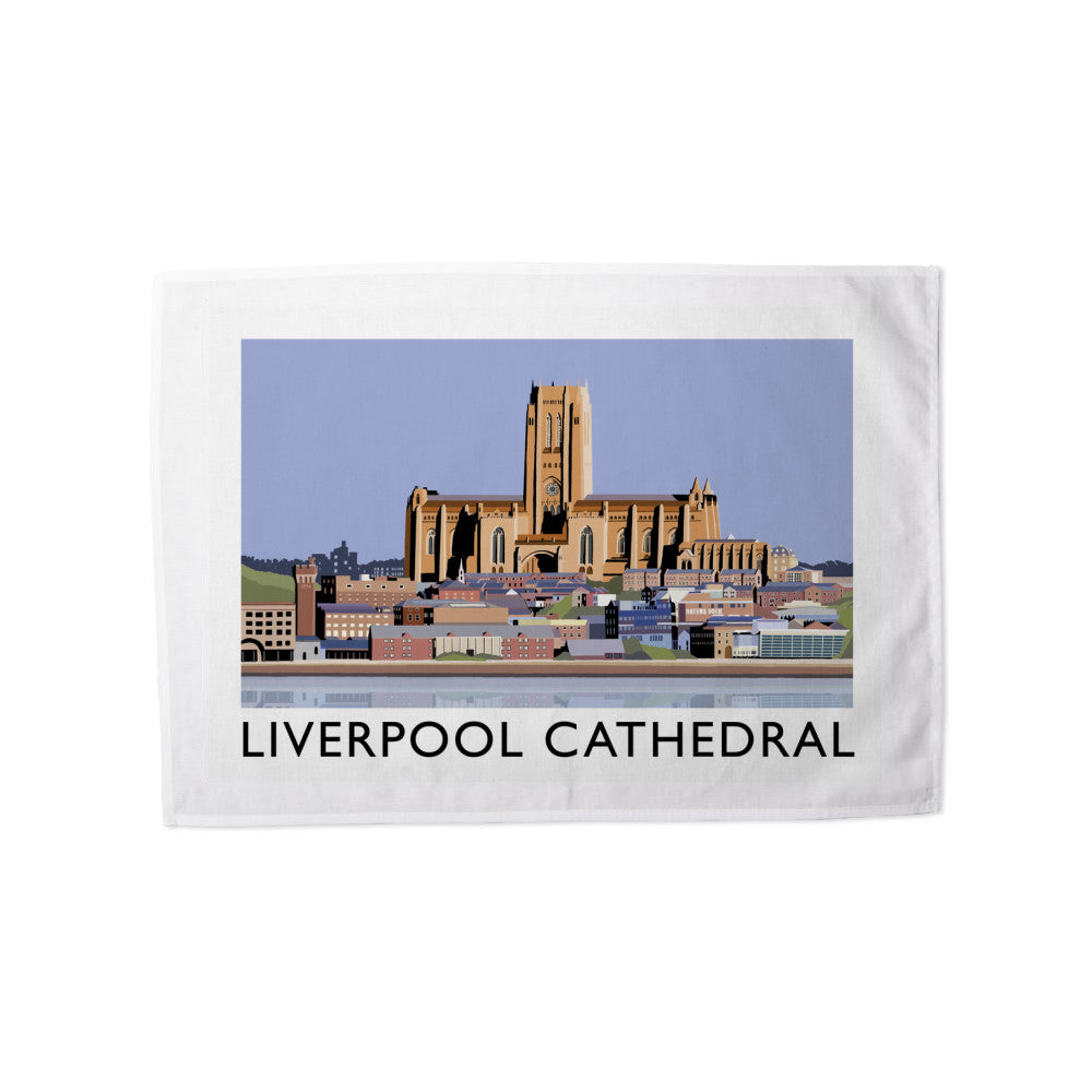 Liverpool Cathedral Tea Towel