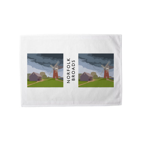 The Norfolk Broads Tea Towel