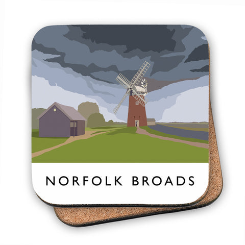 The Norfolk Broads MDF Coaster