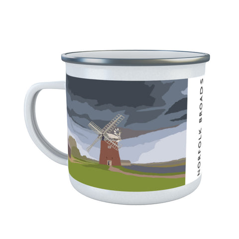 The Norfolk Broads Enamel Mug