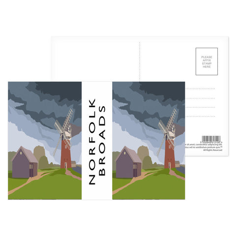 The Norfolk Broads Postcard Pack