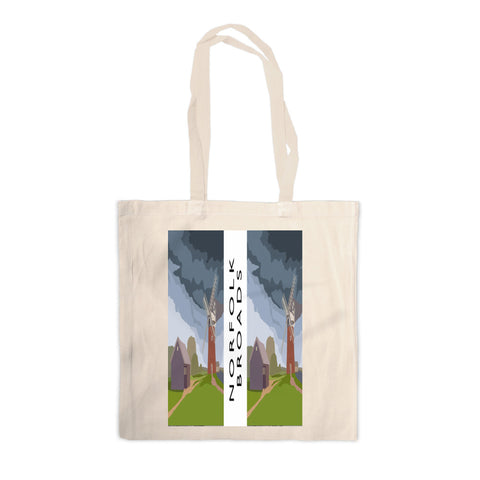 The Norfolk Broads Canvas Tote Bag