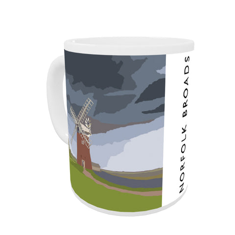 The Norfolk Broads Coloured Insert Mug