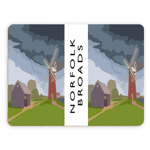 The Norfolk Broads Placemat