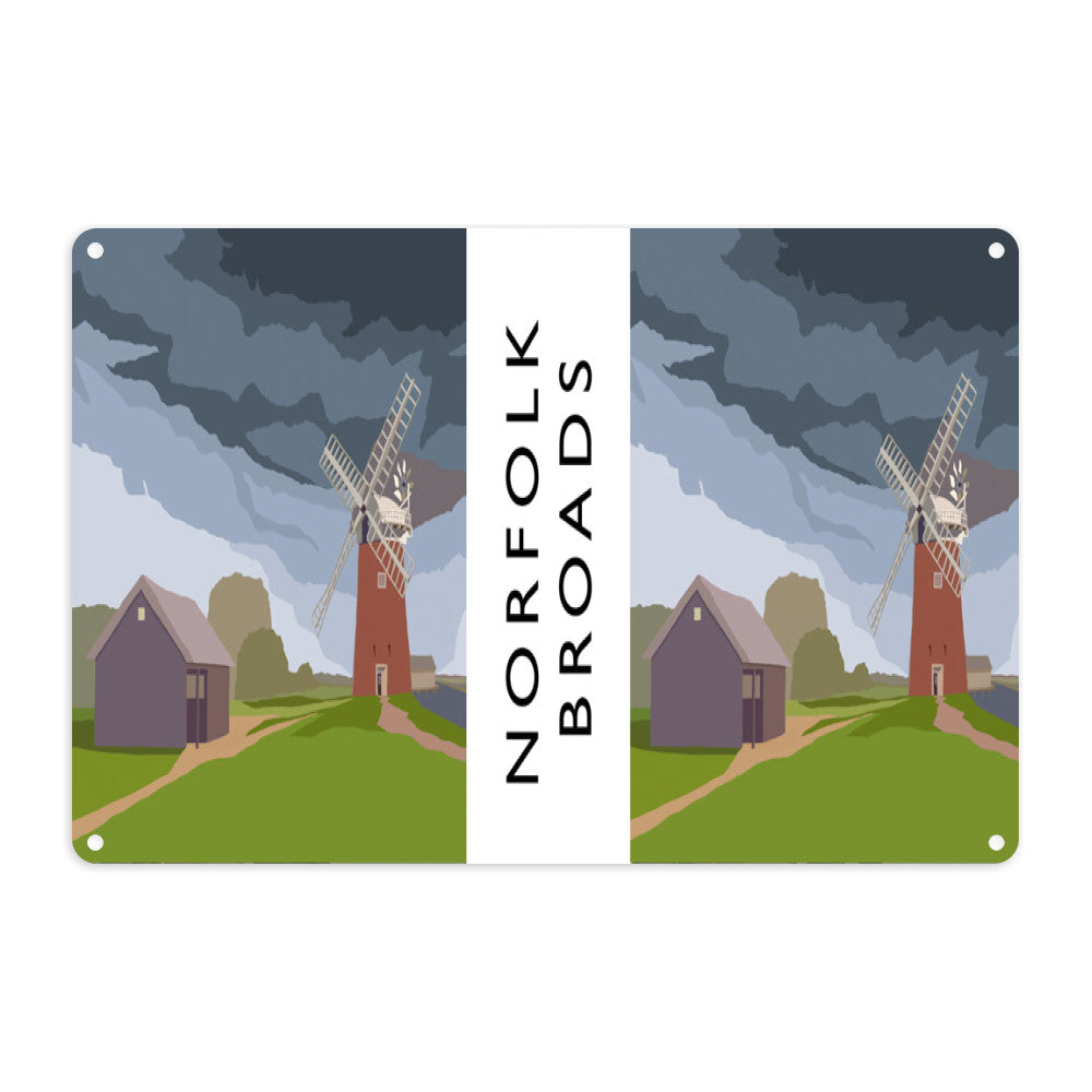 The Norfolk Broads Metal Sign