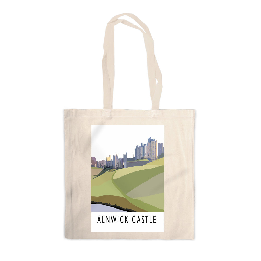 Alnwick Castle, Northumberland Canvas Tote Bag