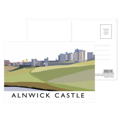 Alnwick Castle, Northumberland Postcard Pack