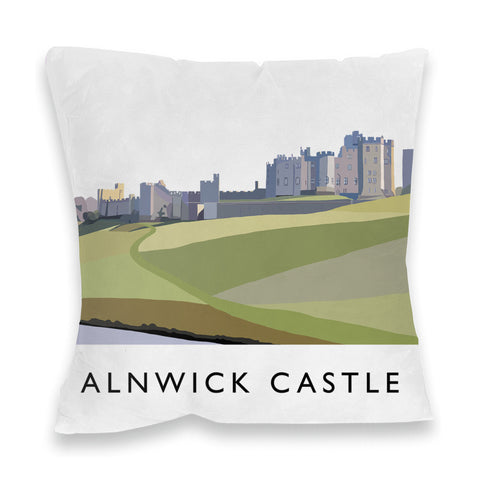 Alnwick Castle, Northumberland Fibre Filled Cushion
