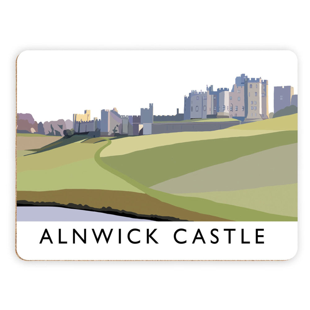 Alnwick Castle, Northumberland Placemat